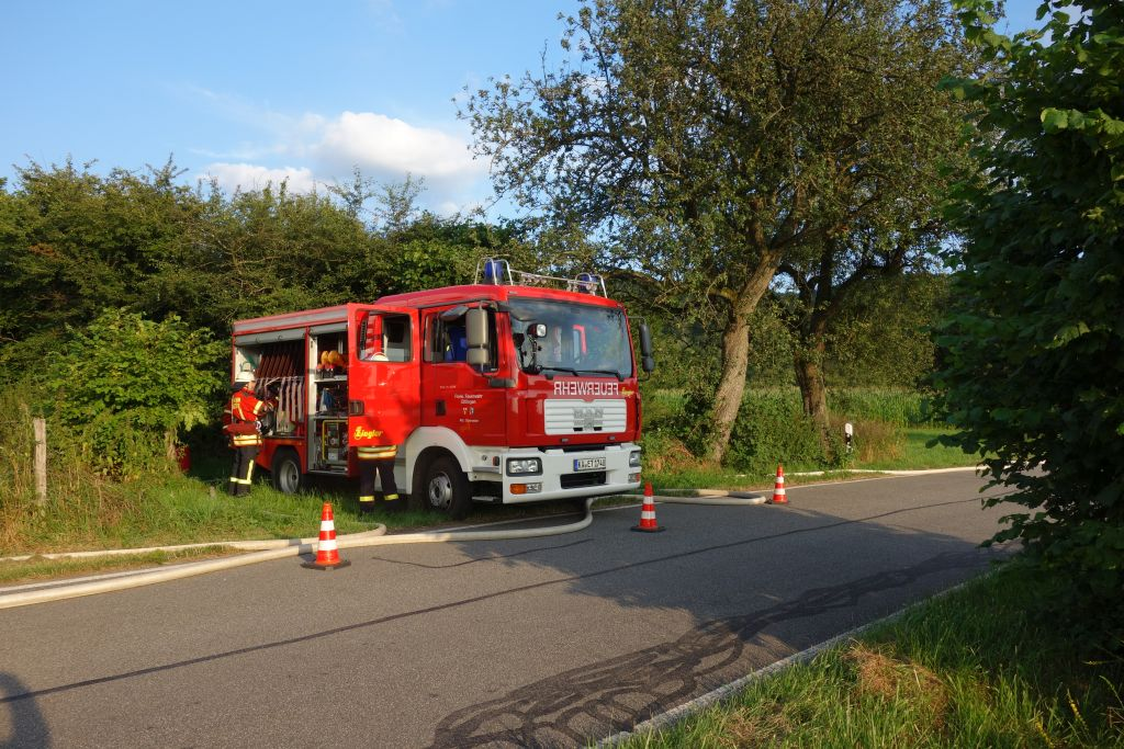 Flächen-/Waldbrandübung – Löschzug Ettlingen Tal