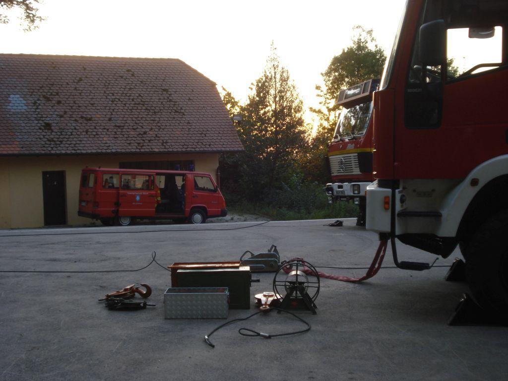 Gemeinschaftsübung der Feuerwehren Sulzbach und Oberweier