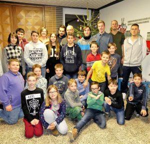 Weihnachtsfeier der Jugendfeuerwehr Oberweier und Bruchhausen
