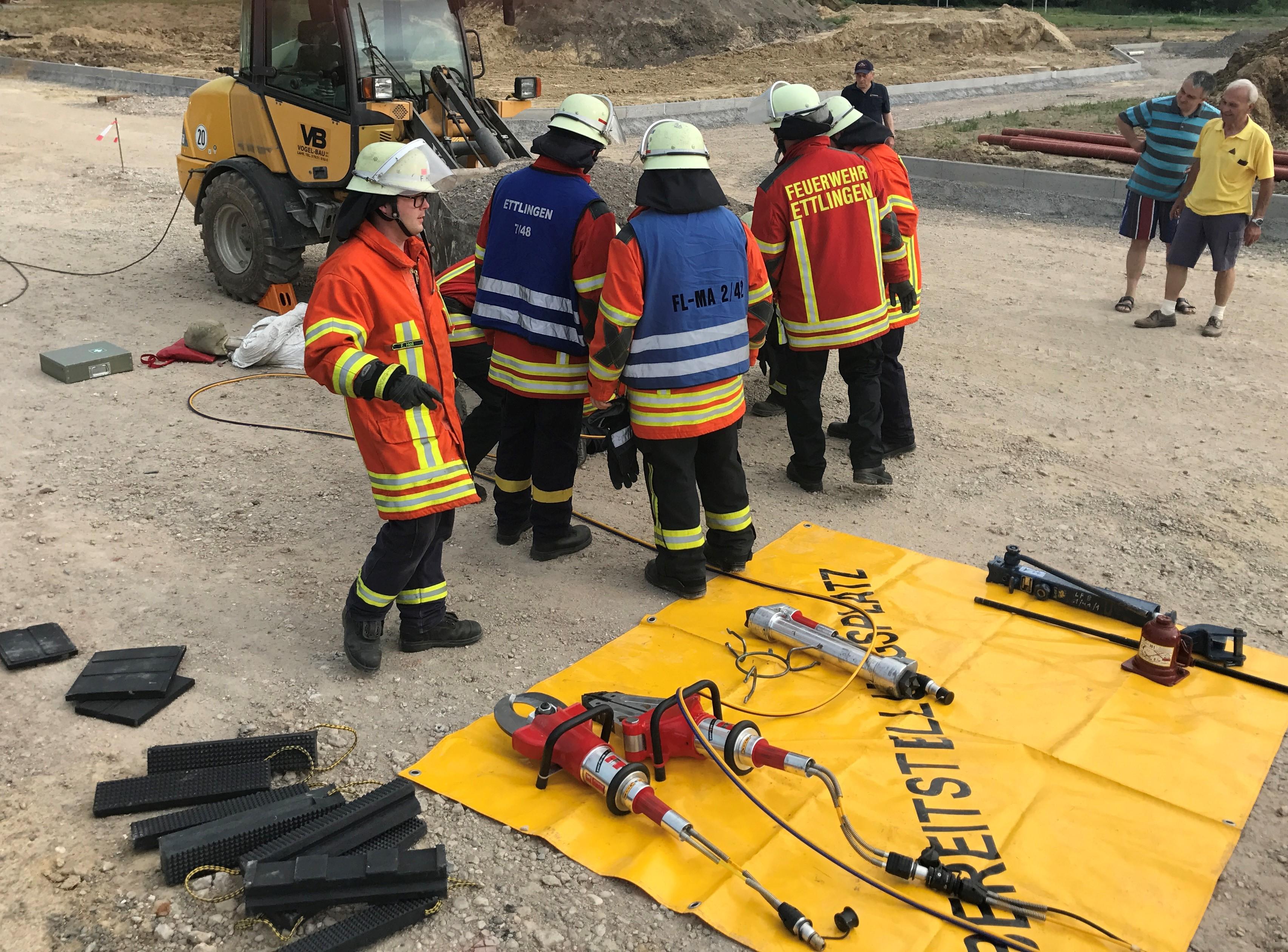 3. Übung der Feuerwehren Sulzbach und Oberweier