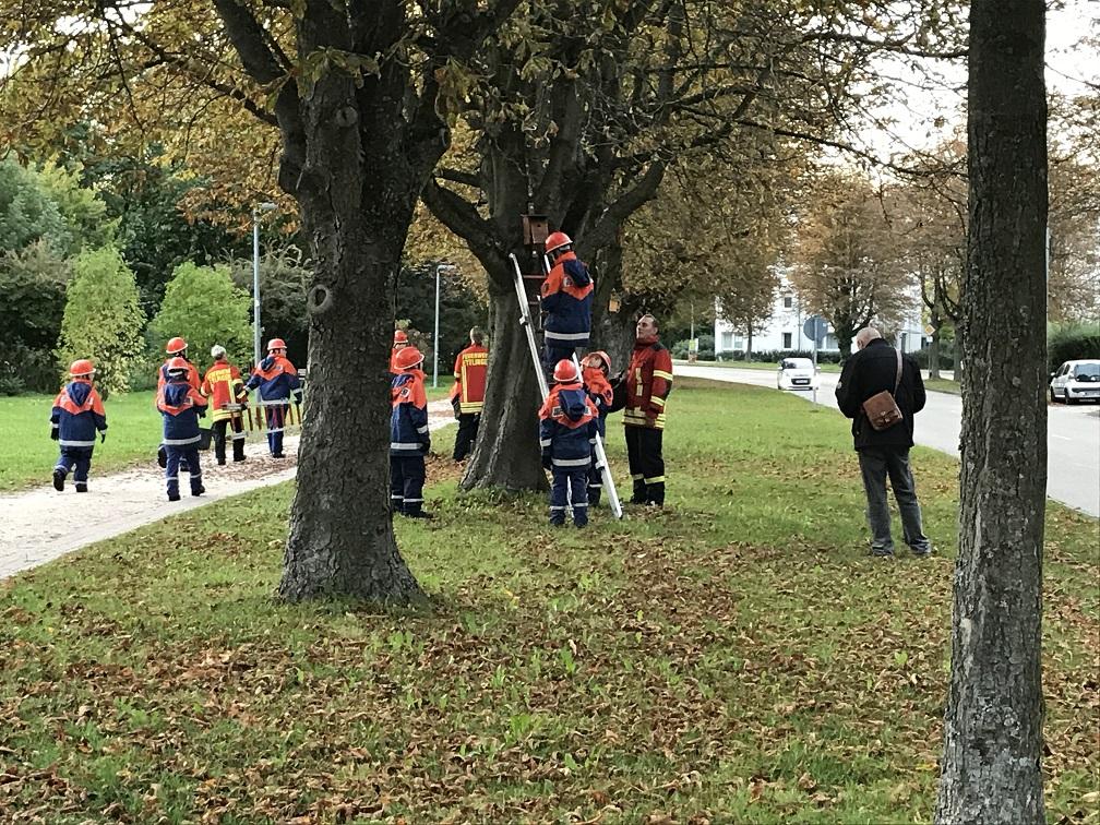 Jugendfeuerwehr startet mit alternativen Übungen in den Herbst